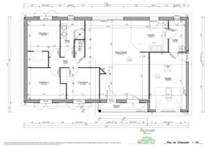 Conspetion de plans maison plain pied Limoges Haute Vienne