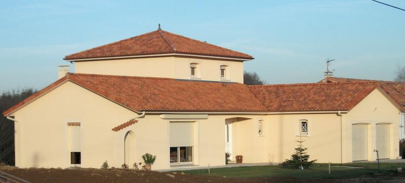 Construction maison étage Limoges Haute-Vienne