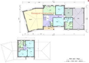 Plan maison 1 étage construction limoges haute vienne