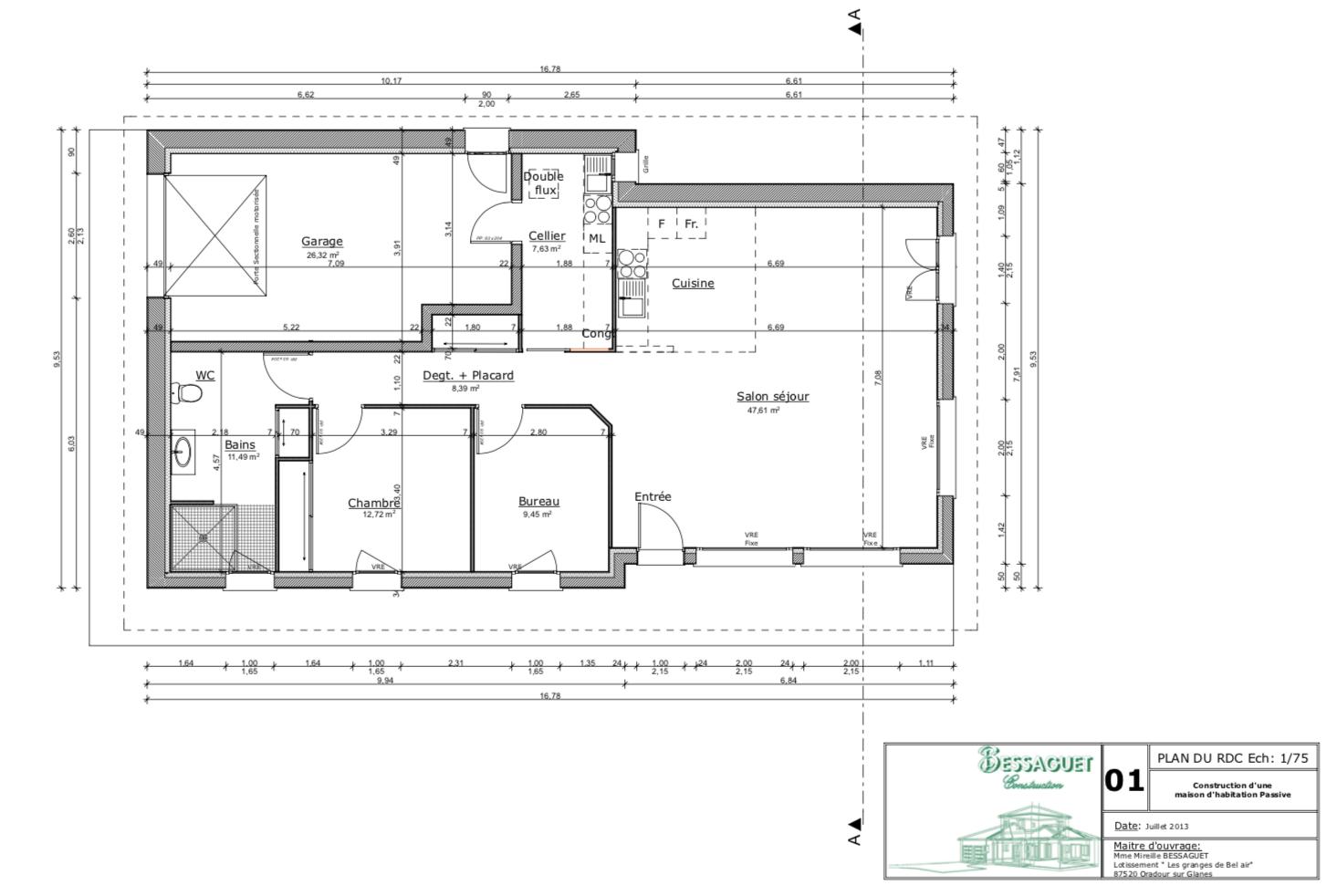 Plan Maison Passive Plain Pied Ooreka 5 11