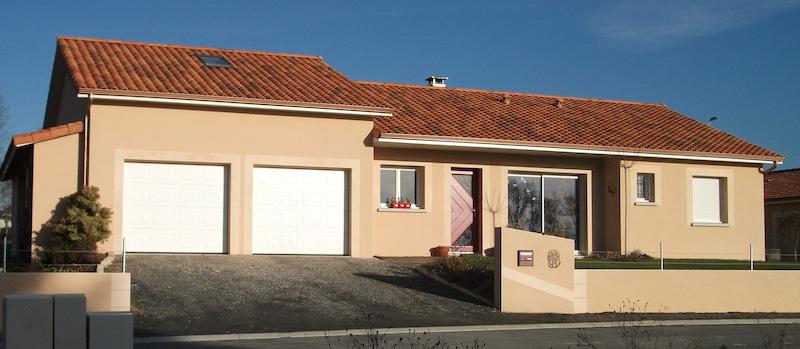 Constructeur maison plain pied Limoges Haute Vienne