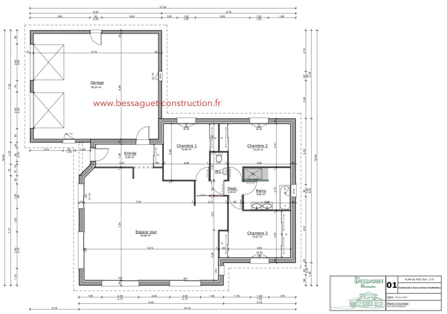 Construction Maison De Plain Pied Limoges Haute Vienne Charente
